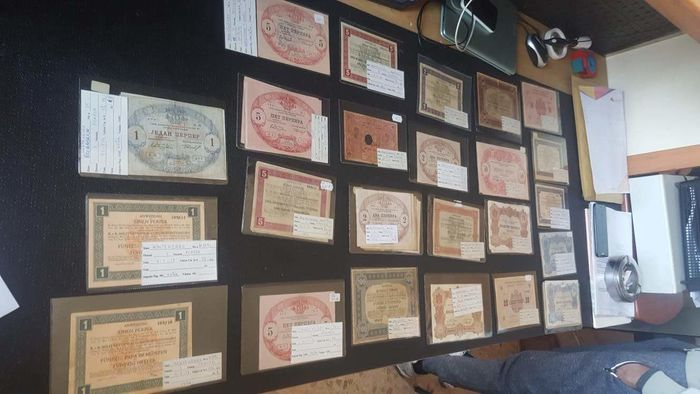 Montenegro - Big collection with 131 banknotes - 1912/1917