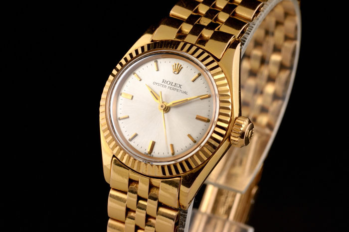 Rolex - Oyster Perpetual 18K Gold - 6618 - Mujer - 1960-1969