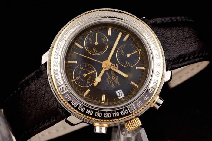 Breitling - Astromat Longitude Chronograph Automatic Limited Edition 646/700 - D20405 - Heren - 1990-1999
