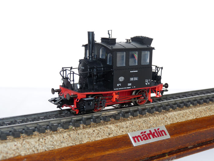 Märklin H0 - 36862 - Tender locomotief - BR 98.3 Glaskasten  - DB
