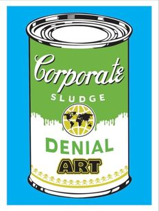 Denial - Corporate Sludge (blue edition)