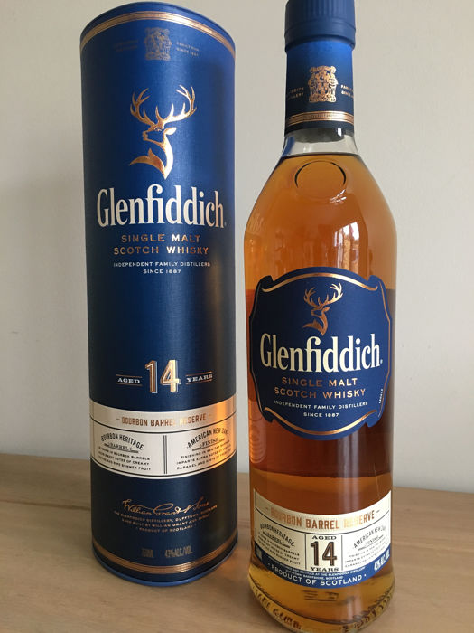 Glenfiddich 14 years old Bourbon Barrel Reserve - US Exclusive  - 750ml