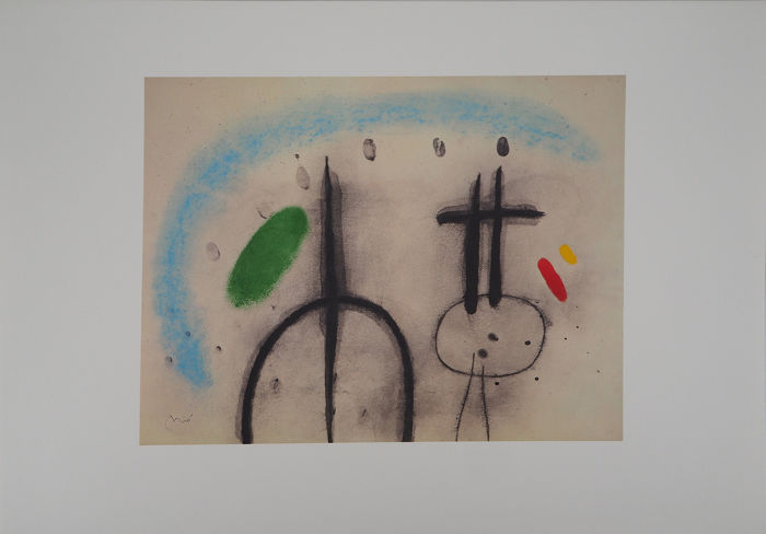 Joan Miro  - Personnages oniriques