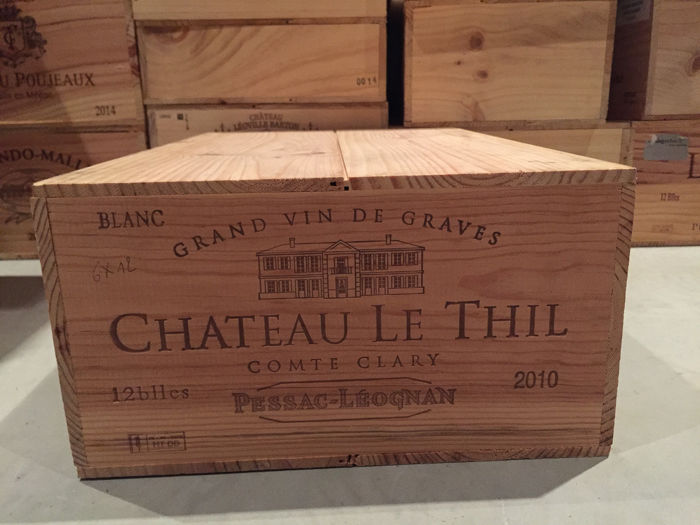 2010 Chateau Le Thil (white)  - Bordeaux - 12 Bottles (0.75L)