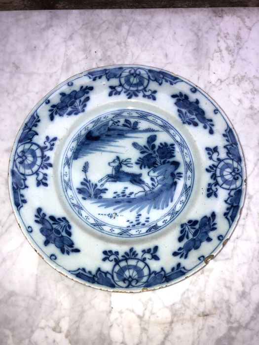 Dish - Dutch Delftware - the Netherlands