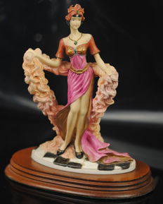 """The Charleston"" 1988 Leonardo Collection - Art Deco Figur"