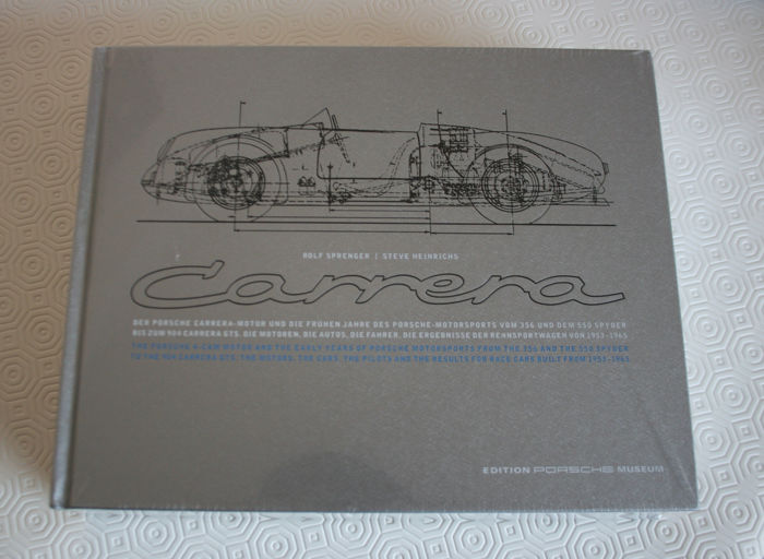Books - Porsche - Porsche Carrera: And the Early Years of Porsche Motorsports Book - 2014