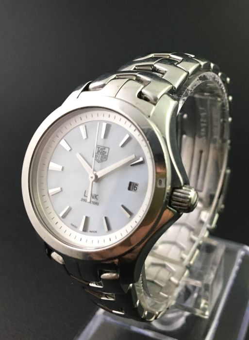 TAG Heuer - Link Lady Edition Nacre Dial - WJF1310 - Mujer - 2000 - 2010