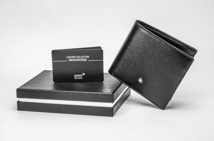 Montblanc - 7162 - Meisterstuck Leather Wallet 11cc with view pocket Wallet