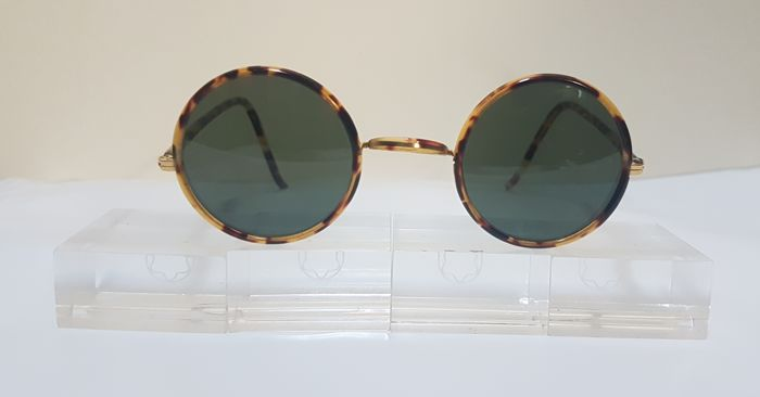 258fc1e0ac Bausch and Lomb Ray Ban Usa - Cheyenne Style II Spotted Tortoise - John  Lennon -