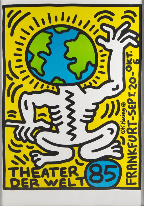 Keith Haring - Theater Der Welt 1985