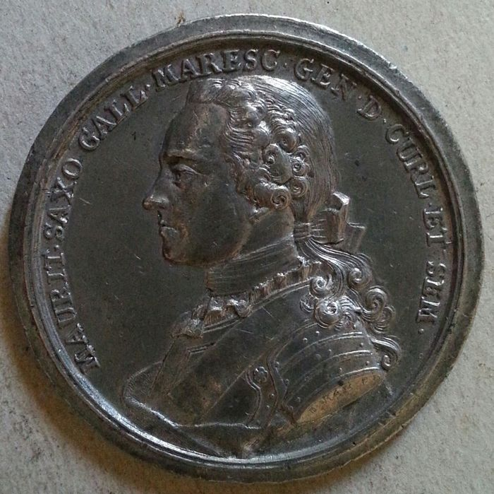 Germany, Frederick Augustus II 1733-1763 - Maurice of Saxony medal