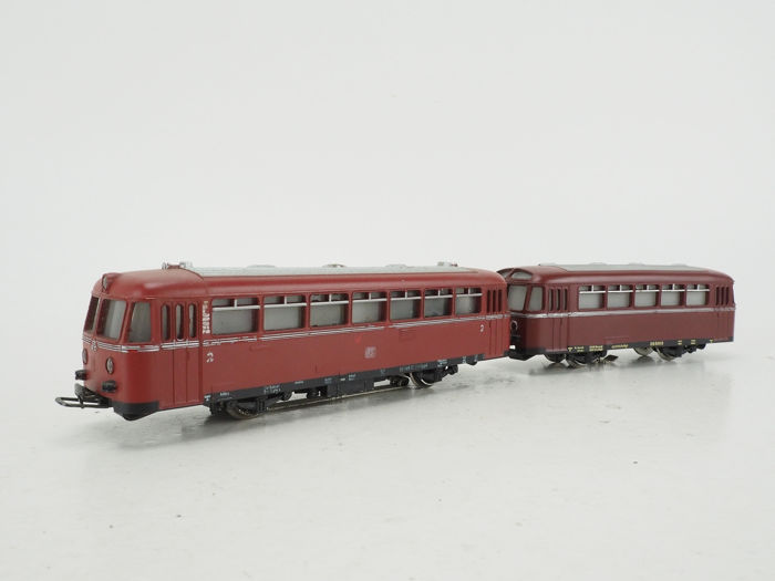 Märklin H0 - 3016/4018 - Motorwagen - Railbus VT 795 with trailer VT 995 - DB