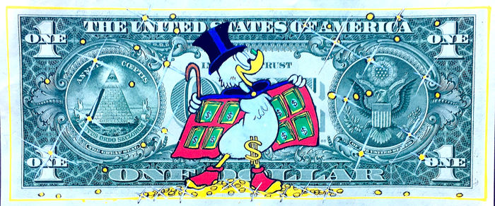 Uncle Scrooge - Scrooge McDuck - Make it Rain - First edition - (2019)