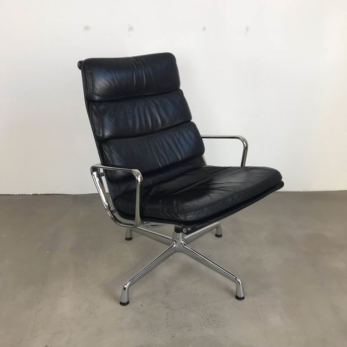 Sensational Charles Eames Herman Miller Lounge Chair Ea216 Soft Pad Catawiki Cjindustries Chair Design For Home Cjindustriesco