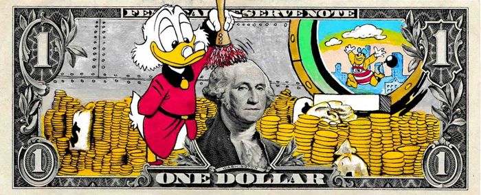 Moabit - Uncle Scrooge - Spring Cleaning