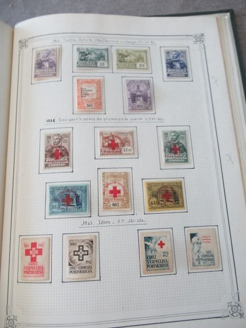 Europe - Advanced collection of stamps including Portugal