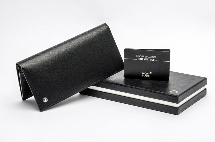 Montblanc - 8375 - 4810 Westside Zipped Pocket Leather Wallet