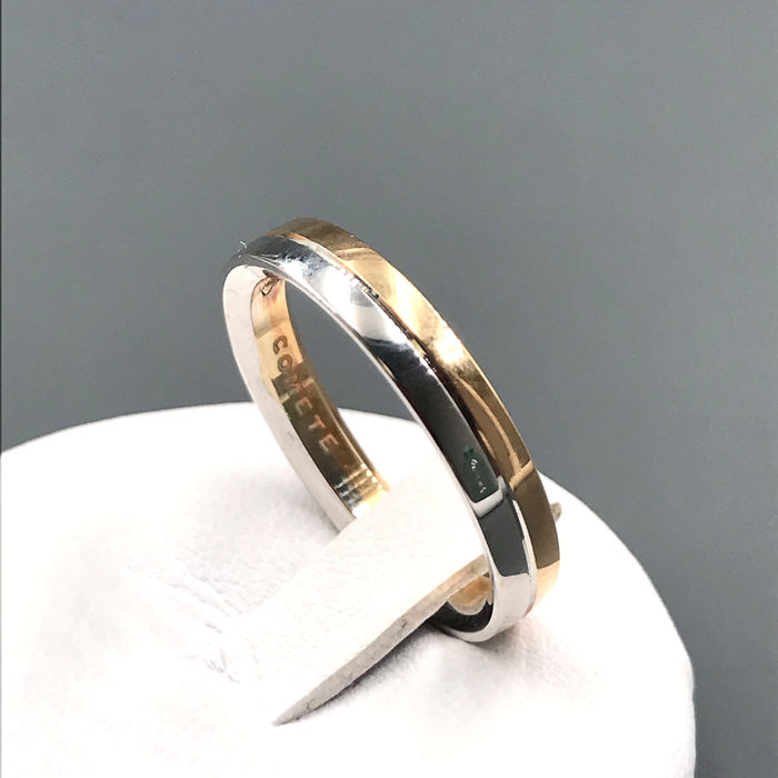 Comete - 18 kt. White gold, Yellow gold - Ring