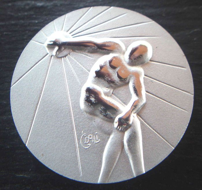 Olympiade Los Angeles 1984 - Olympic Games - Discus Throwing - World Athletes - 1984 - Pure Silver Medal