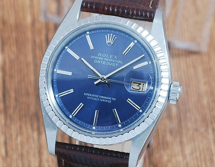 Rolex - Oyster Perpetual DateJust  - 1603 - Hombre - 1970-1979