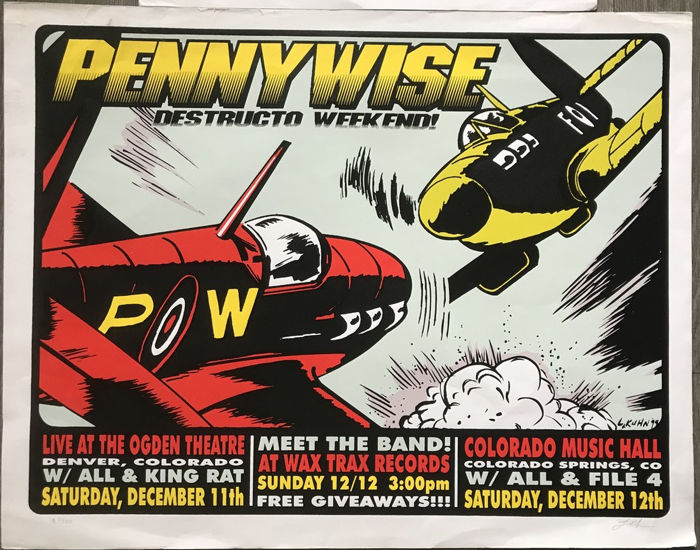 Lindsey Kuhn - 2 affiches  - Penny Wise & Mad Caddies