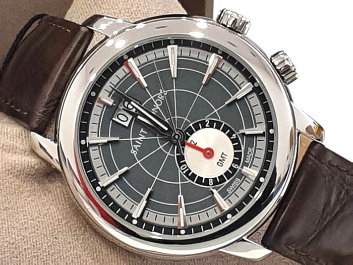 """Saint Honorè - """" NO RESERVE PRICE """" ORSAY GTM - Grey Dial & Dater - 8670401DIN - Swiss Made  - Heren - 2011-heden"""