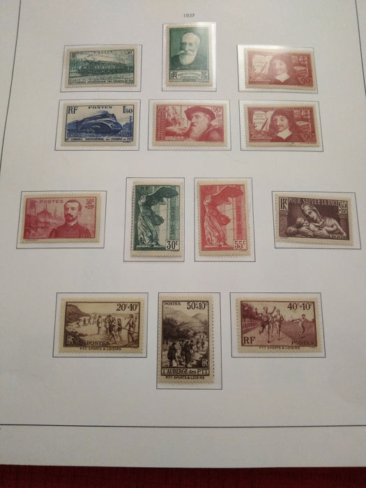 Frankrijk 1938/1949 - Collection of stamps