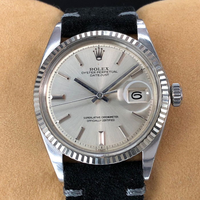 Rolex - Datejust Pie Pan Dial - 1601 - Unisex - 1970-1979