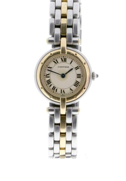Cartier - Panthère Ronde VLC Yellow Gold and Stainless Steel - 188920 - Mujer - 1987