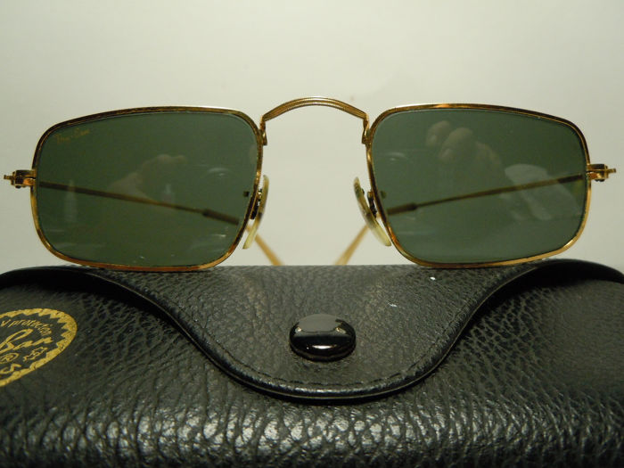RAY BAN  W0982 Classic Collection Style IV Bausch & Lomb - Arista 24K Gold Plated Vintage 90's Zeldzaam