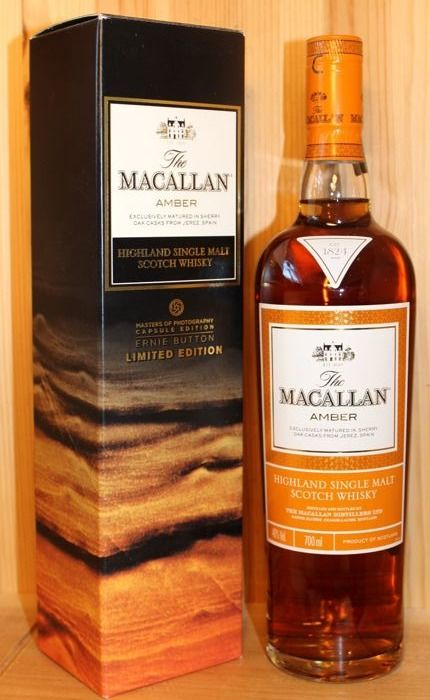 Macallan Amber Ernie Button, Limited Edition  - 700ml