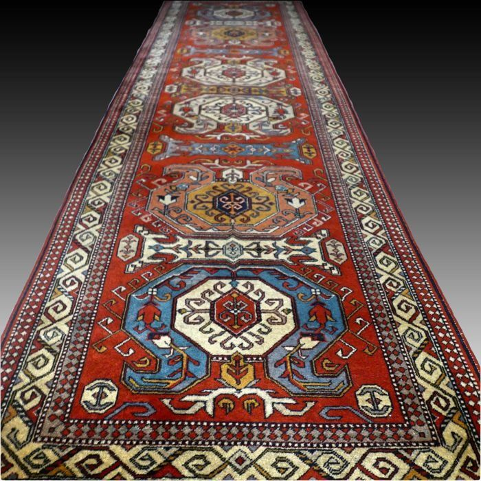 Kazak - Chemin de table - 304 cm - 87 cm