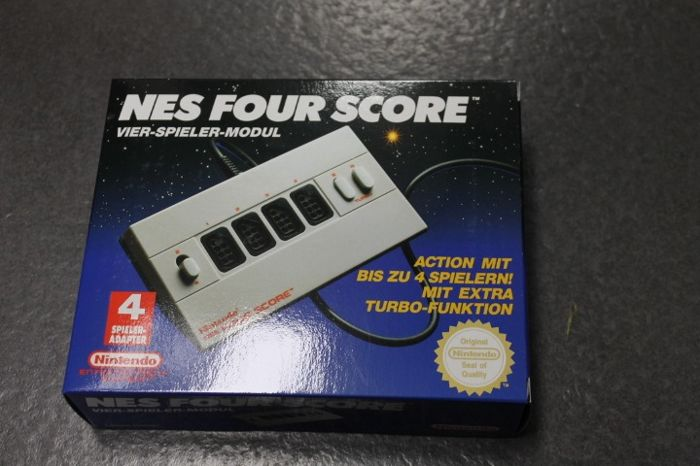 Nintendo Nes - four score  (1) - In original sealed box
