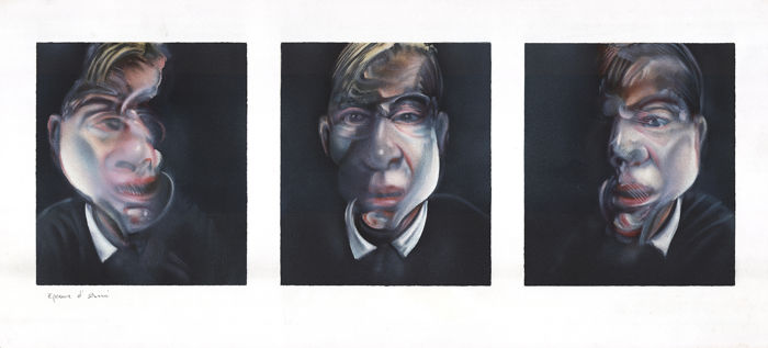 Francis Bacon - Three studies for a selfportrait