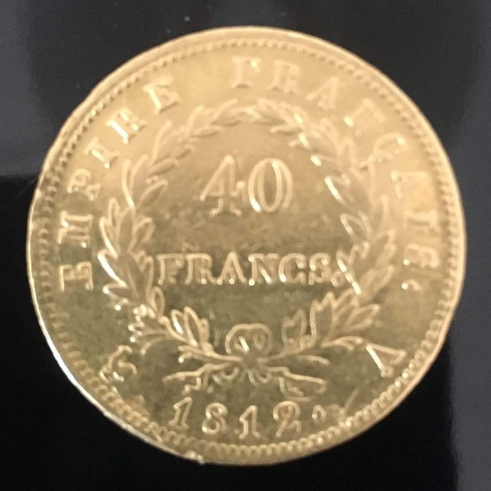 40 Francs 1812-A Napoléon I - Or