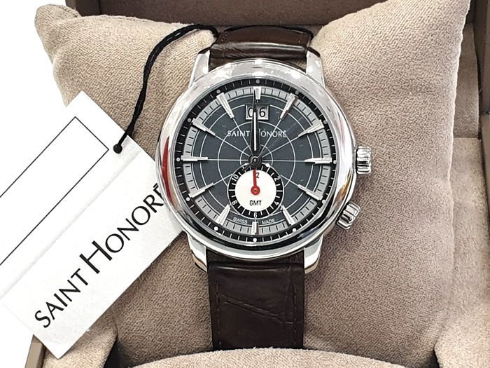 "Saint Honorè - "" NO RESERVE PRICE "" ORSAY GTM - Grey Dial & Dater - 8670401DIN - Swiss Made  - Heren - 2011-heden"
