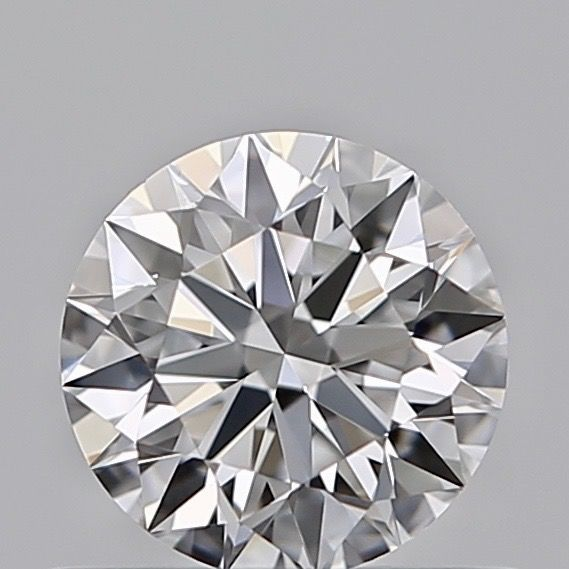 1 pcs Diamant - 0.19 ct - Briljant - E - IF (intern zuiver)
