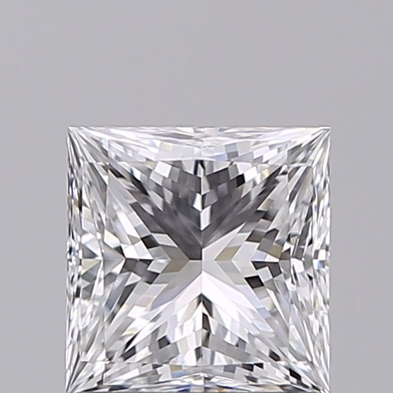 1 pcs Diamant - 1.00 ct - Prinses - D (kleurloos) - IF (intern zuiver)