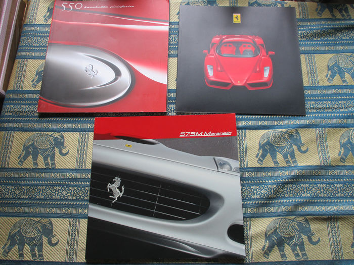 Brochures / catalogues - Ferrari - 550/575/Enzo - 2000-2002