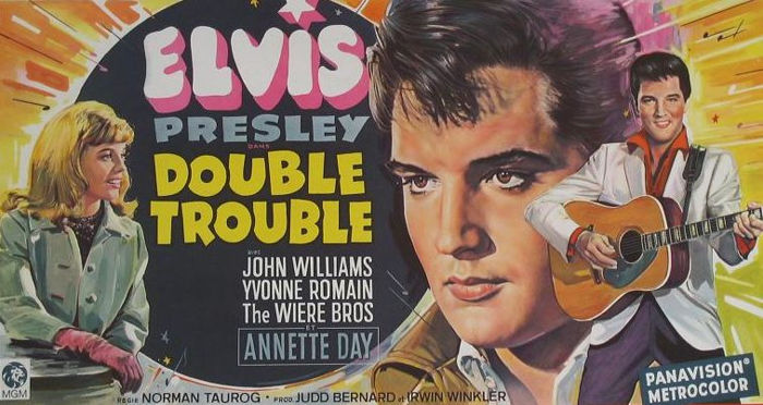 - Elvis Presley - Double Trouble (1967) - Original first release Belgian  poster - Catawiki