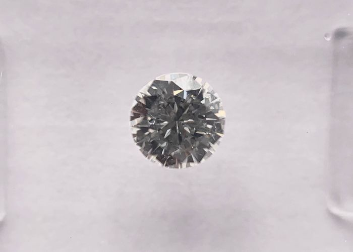 1 pcs Diamante - 0.36 ct - Brillante, Redondo - H - VVS2