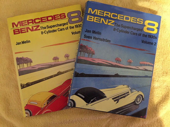 Boeken - Mercedes Benz – The Supercharged 8-Cylinder Cars of the 1930's - 1985-2003