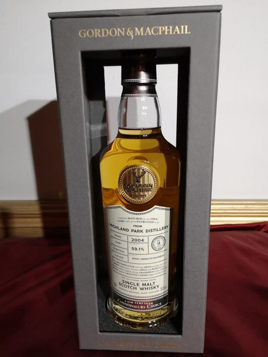 Highland Park 2004 14 years old - Gordon & McPhail - 0.7 Litres