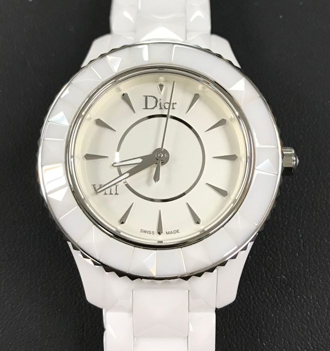 Dior - Dior VIII White Ceramic Ladies Watch - CD1231E2C001 - Women - 2011-present