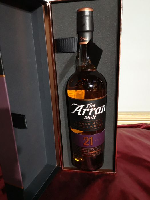 Arran 21 years old - 0,7 Liter