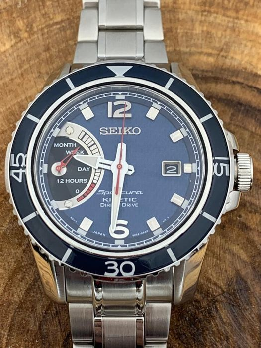 Seiko - Sportura Kinetic Direct Drive  NO RESERVE PRICE  - SRG017P1  - Heren - 2011-heden