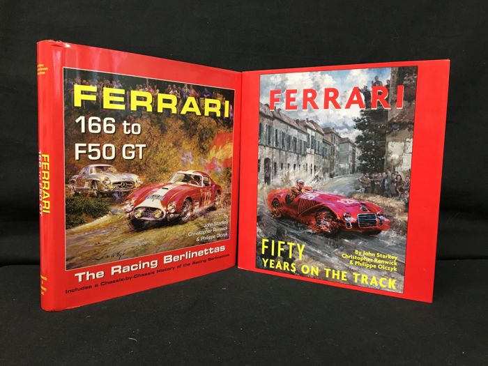 Boeken - Ferrari: The Racing Berlinettas + 50 Years on the Track (both author signed) - 1999