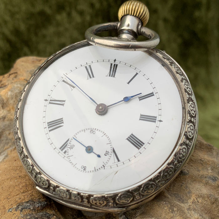 Diogene - Ankergang pocket watch - NO RESERVE PRICE - Hombre - 1900s