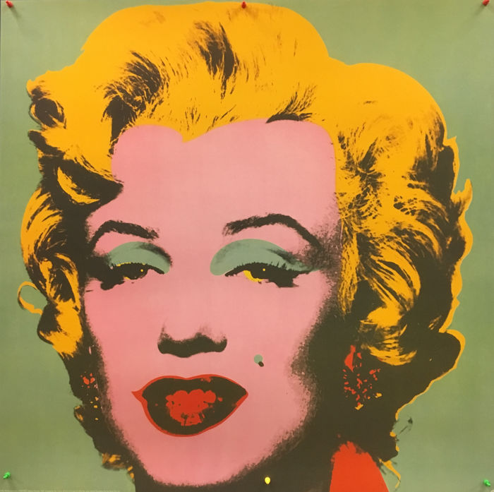 Andy Warhol - Marilyn Monroe (Green - Turquoise) - Large Offset - 1993